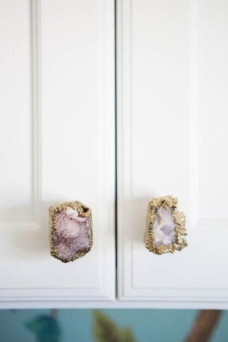quartz knobs